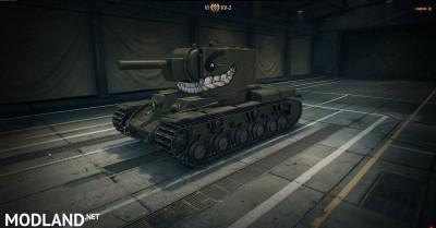 KV-2 EVIL SMILE FACE SKIN 1.4 [1.4.1.0]